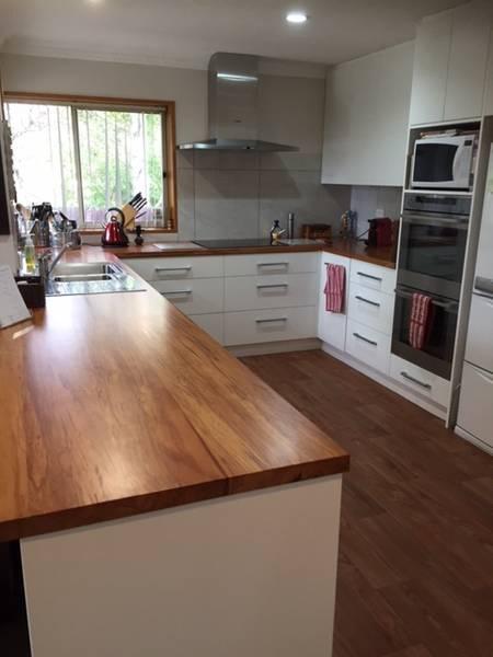 Wooden Benchtops — Photo Galleries | Kiwi Kitchens