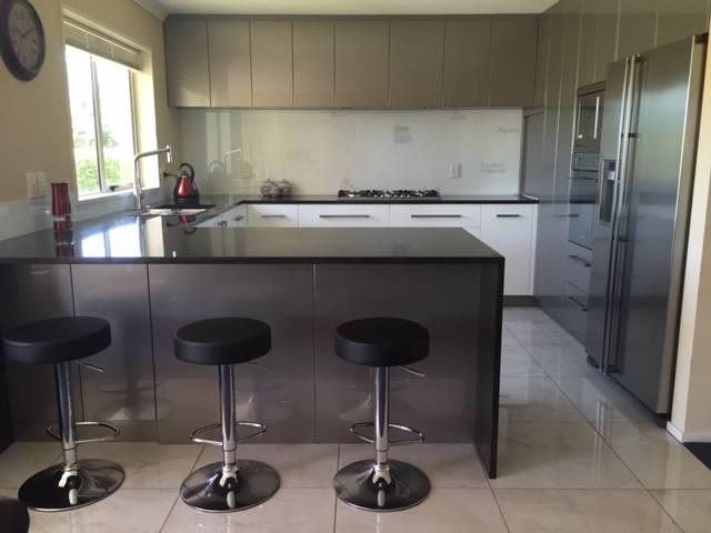 Black Granite Stainless Steel Kitchen