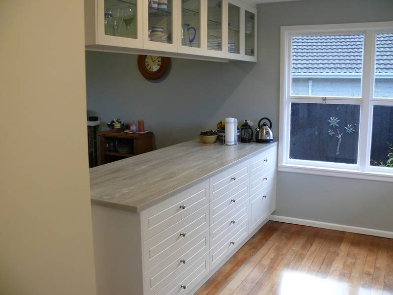 Laminate Benchtops — Photo Galleries | Kiwi Kitchens ...